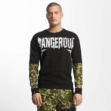 Dangerous DNGRS / Pullover Methal in black - M