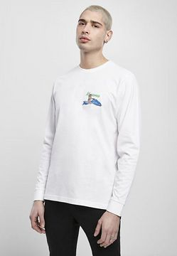 Mr. Tee Bad Gyal Longsleeve white - M