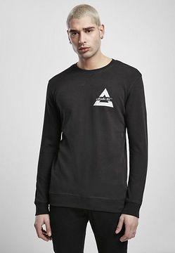 Mr. Tee Mister Tee Triangle Crewneck black - L