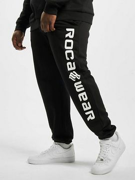 Rocawear / Sweat Pant Big Basic in black - 3XL