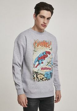 Mr. Tee Spiderman Ftanng Crewneck grey - M