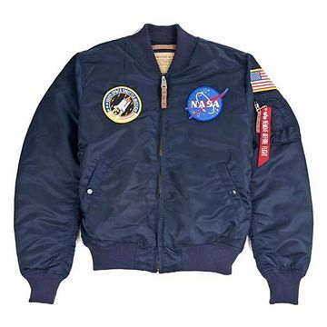 Alpha Industries MA-1 VF NASA Rep. Blue - 2XL