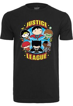 Mr. Tee Justice League Comic Crew Fit Tee black - L