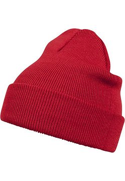 Master Dis Beanie Basic Flap red - One Size