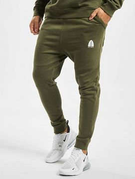 Just Rhyse / Sweat Pant Rainrock in olive - L