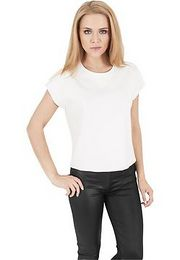 Urban Classics Ladies Scuba Sleeveless Crew offwhite - M