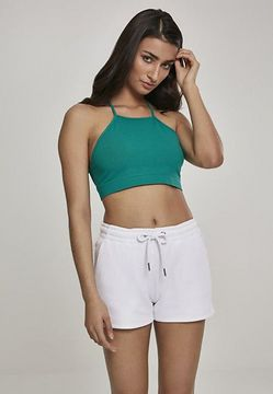 Urban Classics Ladies Triangle Top fresh green - M