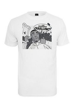 Mr. Tee Caaalling Tee white - XS