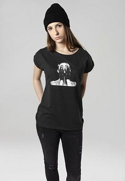 Mr. Tee Ladies Selena Gomez Black Gloves Tee black - L