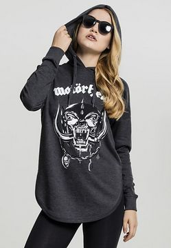 Mr. Tee Motörhead Everything Louder Oversized Hoody charcoal - M