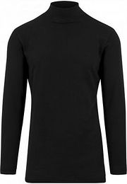 Urban Classics Long Open Edge Turtleneck Crew black - S