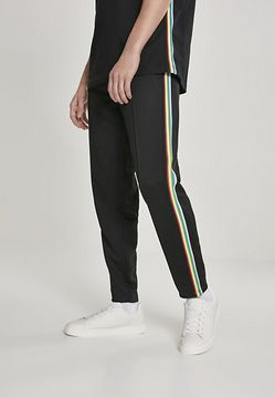 Urban Classics Side Taped Track Pants blk/multicolor - XL