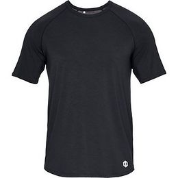 Under Armour Recovery Sleepwear SS Crew-BLK - M