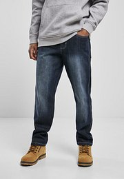 Southpole Cross Hatch Basic Denim dk.sand blue - 34/32