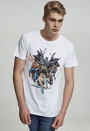 Mr. Tee Justice League Crew Tee white - S