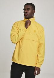 Urban Classics Hidden Hood Pull Over Jacket chrome yellow - XXL