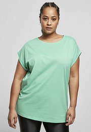 Urban Classics Ladies Extended Shoulder Tee freshseed - S