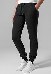 Urban Classics Ladies Fitted Athletic Pants black - M