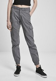 Urban Classics Ladies High Waist Cargo Pants lightshadow - 31
